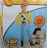 Disney Pixar Toy Story Woody Child Costume S (4-6) + Bonus Coordinated Treat Bag