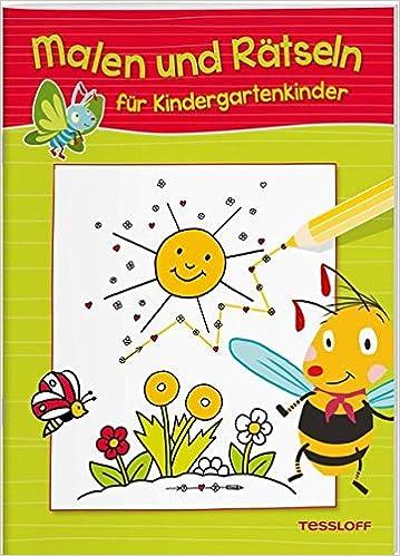Malen und Rätseln für Kindergartenkinder: Suchen, Zählen, Zuordnen ...