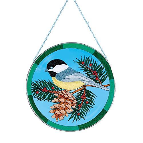 Collections Etc Chickadee Suncatcher Outdoor Decoration