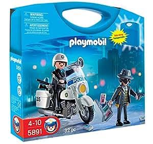 Playmobil 626650 - Maletín Policía