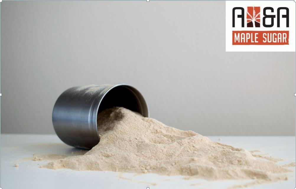 Pure Maple Sugar - 5 Pound Bulk - A&A Maple