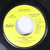 The Insect Trust 45 RPM Miss Fun City / Special Rider Blues