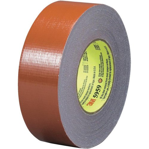 3m outdoor masking and stucco tape 5959 red 48 mm x 41 1 m pack of 1 hardware insulation for Exterior masking tape