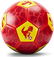 CubicFun Kids Soccer Ball Size 3 with Hand Pump & Mesh Bag, Kids Toys for 3 4 5 Year Old Boys Girls Gifts,