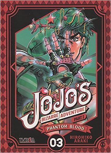 Jojos Bizarre Adventure Parte 1: Phantom Blood 3: Amazon.es: Hirohiko Araki, Pablo Tschopp: Libros