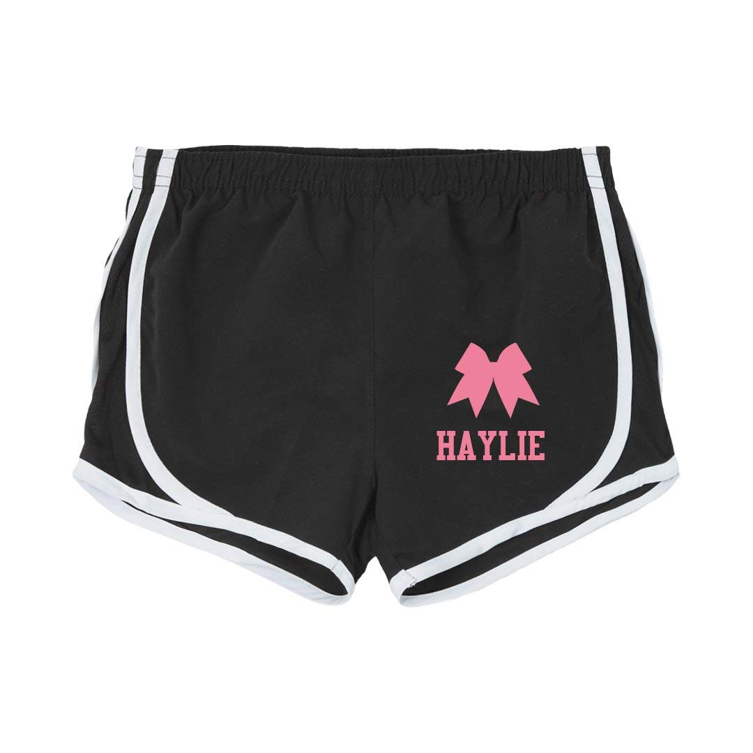 Haylie Girl Cheer Practice Shorts Youth Running Shorts