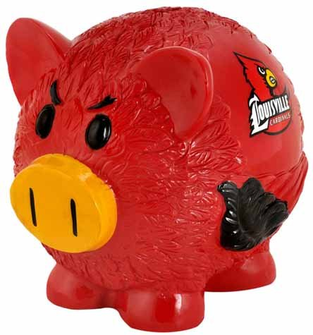 Louisville Resin Small Thematic Piggy Bank (Basketball Mini Bank)