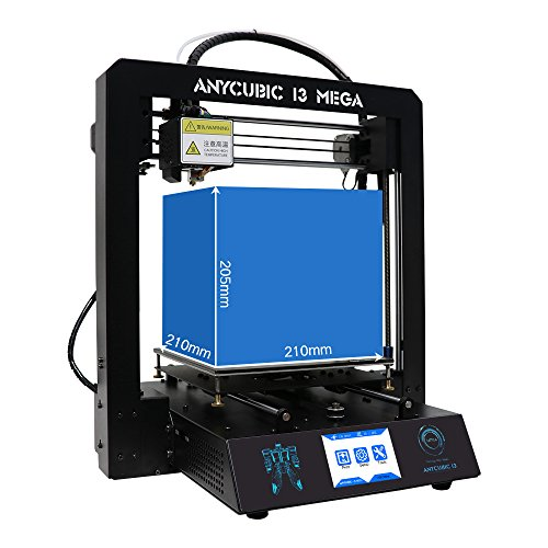 Anycubic Full Metal i3 Mega 3D Printer with Ultrabase Heatbed and 3 5 Inch  Touch Screen