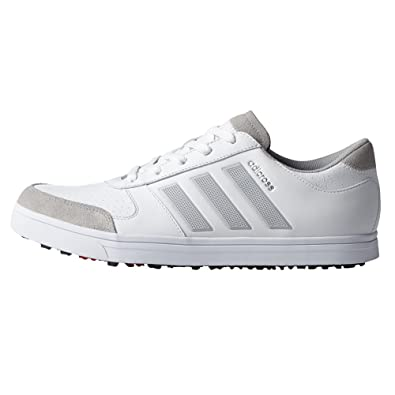 Adidas Adicross Gripmore 2 Spikeless Golf Shoes 2017 White/Clear Onix/Ray  Red Medium