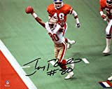 Jerry Rice San Francisco 49ers Autographed 8' x 10' Hands Up vs Broncos Photograph - Fanatics Authentic Certified