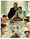 Norman Rockwell Freedom From Want 1943 Art Print - 8 in x 10 in - Unmatted, Unframed