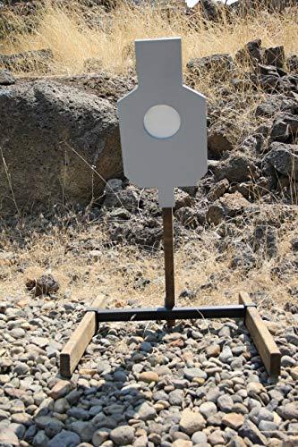 Deschutes Metal Works AR500 Steel Silhouette Reactive Target - Set Reactive