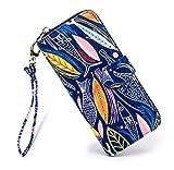 LOVESHE Women's Fish Pattern Bohemian Style Purse Clutch Bag Card Holder New Fashion (17YU38)