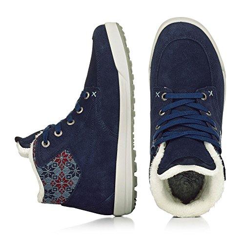 Lowa Mosca Gtx Qc Ws, Zapatillas Altas para Mujer Azul
