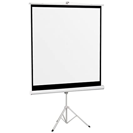 Popamazing - 70 pulgadas Blanco Mate Home/Office pantalla para ...
