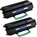 PTA Brand 2 Pack 310-8707 MW558 GR332 Toner Cartridge Fits Dell Dell 1720 1720dn6000 pages @ 5% coverage, Office Central