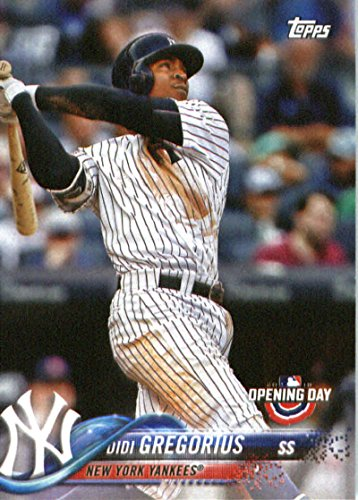 2018 Topps Opening Day #175 Didi Gregorius New York Yankees Baseball Card