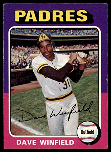 Baseball MLB 1975 Topps #61 Dave Winfield EX Excellent - Memorabilia Winfield Dave