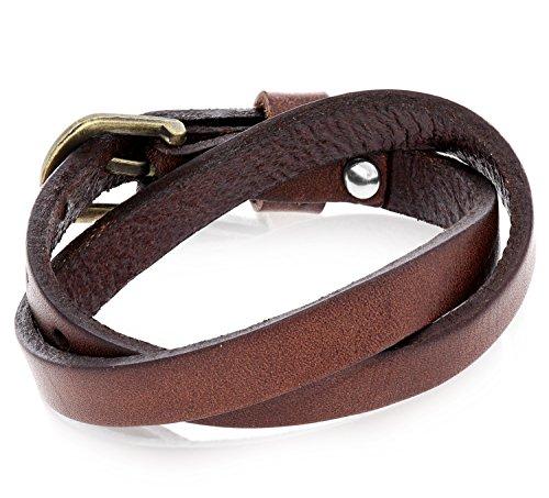 Casual Style Leather Bangle Bracelet