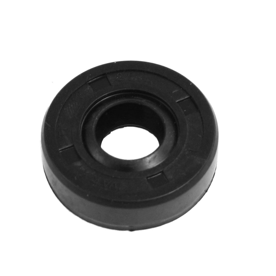 sourcing map Oil Seal, TC 22mm x 34mm x 7mm, Nitrile Rubber Cover Double Lip