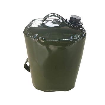 pu/ò contenere la benzina diesel per la barca di auto e aereo Funihut sacchetto di contenitore di benzina di olio 30 L sacchetto di acqua pieghevole in TPU Tanica per carburante 50 x 30 x 20 cm