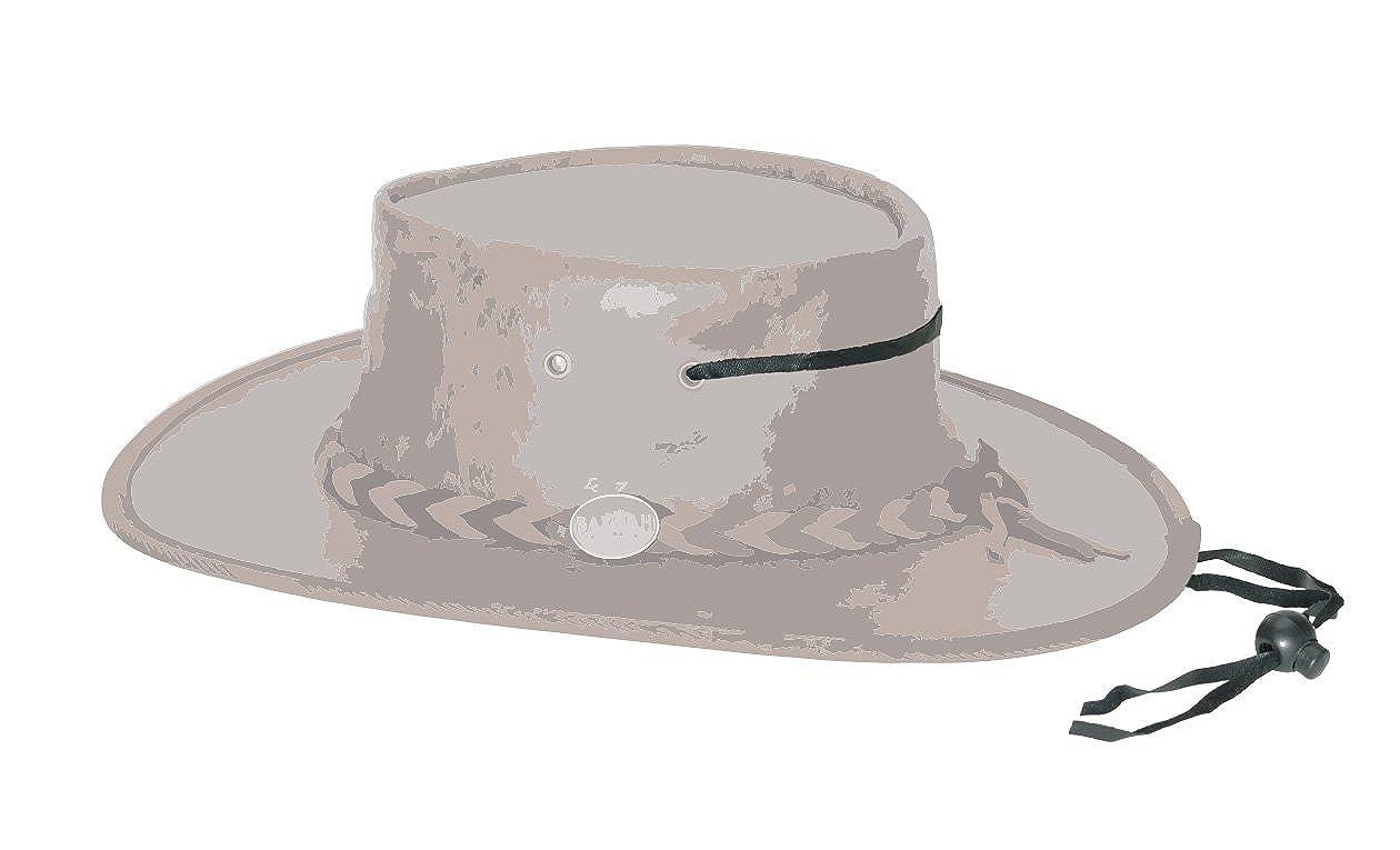 Braun//Brown Kinnriemchen Barmah 1022 Squashy Bronco Two Tone Lederhut aus Australien