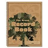 Carson-Dellosa 104301 Green Record Book 96 Pages 8-1/2x11''