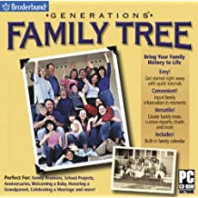 Generations Family Tree (Jewel Case)