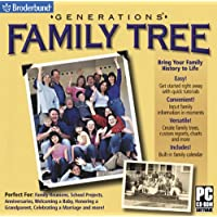 Generations Family Tree (Jewel Case)