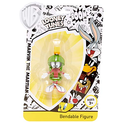 NJ Croce Marvin the Martian Bendable Figure