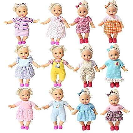 Amazoncom Juego De 12 Prendas De Vestir Para Bebés De 12