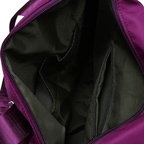 Bolso hombro al Godea Oscuro para mujer Rojo PUBCFn