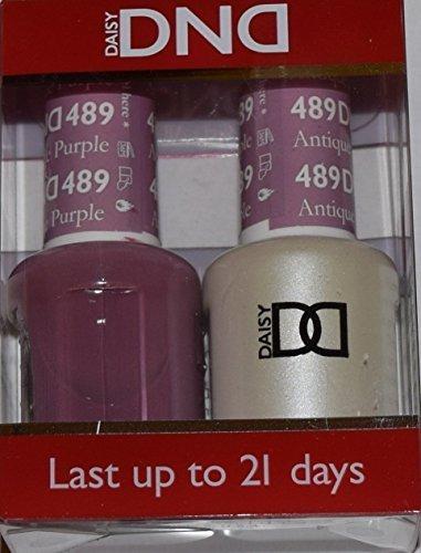 DND Gel & Matching Polish Set #489 - Antique Purple. Buy 5 a