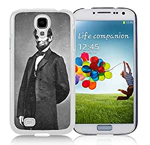 Customized Case US President Abraham Lincoln Samsung Galaxy S4 I9500 White Cell Phone Case