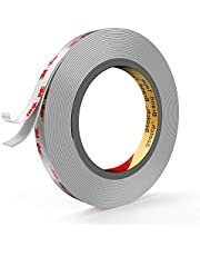 Double Sided Tape Heavy Duty, 3M 4941 16ft Length 0.5 inch Width Waterproof Mounting Tape Easy to Apply for Outdoor, Home, Office, Wall Accessories