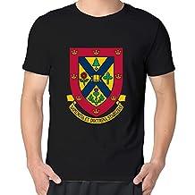 Queen's University Logo Fashion T Shirt Tee Shirts Men