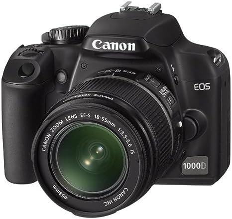 Canon EOS 1000D - Cámara de fotos réflex digital (pantalla LCD de ...