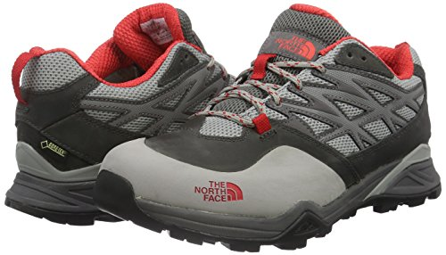 Red Grey Hike Basse Gull North De Chaussures dark Tige Goretex À The Randonnée Gris tomato Apn Face Hedgehog Femme Grey fUaSq