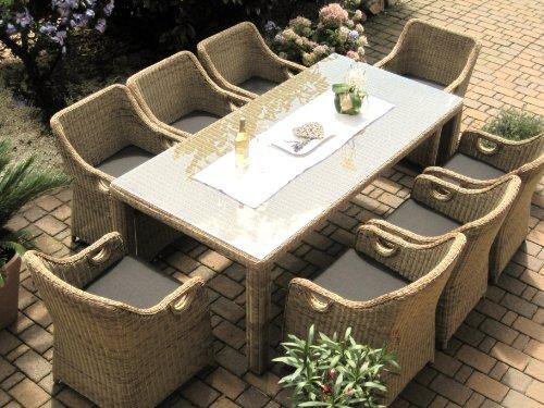 Polyrattan Gartenmobel Braun | Möbelideen