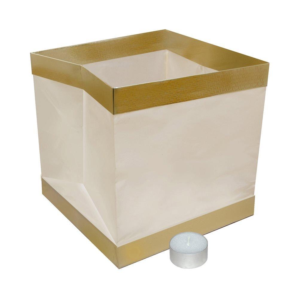 Amazon.com: Water Floating Candle Lantern Biodegradable - Set of ... for Japanese Lantern Square  199fiz