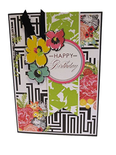Anna Griffin Happy Birthday Floral Layers with Mixed Print