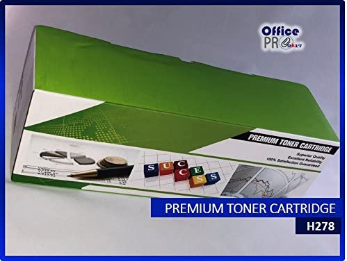 100/% Compatible with a Wide Range of HP /& Canon Printers Black Ink 2 High Yield OfficePro 2k17 2100 Pages HP /& Canon Ink Toner Cartridge CE278A Premium Laser Toner Cartridge CE278A