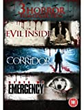 The Evil Inside/The Corridor/State Of Emergency [DVD]