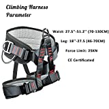 Eleven Guns Adjustable Thickness Climbing Harness