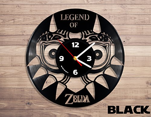 ArtGrain.pro Legend of Zelda vinyl record wall clock