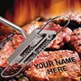 YY YEARCHY BBQ Meat Branding Iron with Changeable Letters and a Handy Draw- Great for Branding Steaks Burgers Chicken