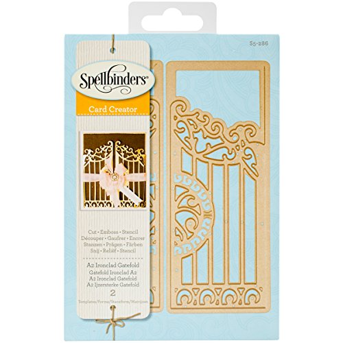 Spellbinders Iron Clad Gatefold Etched/Wafer Thin Dies ()