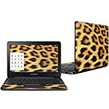 Mightyskins Skin Compatible with Samsung Chromebook 3 11.6' - Cheetah | Protective, Durable, and Unique Vinyl Decal Wrap Cover | Easy to Apply, Remove, and Change Styles | Made in The USA