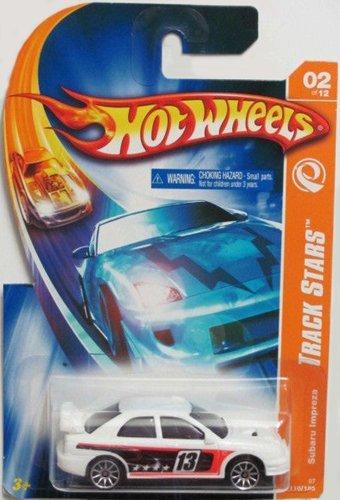 Track Stars Series #2 Subaru Impreza Hot Wheels #2007-110 1:64 Scale Collectible Die Cast Car