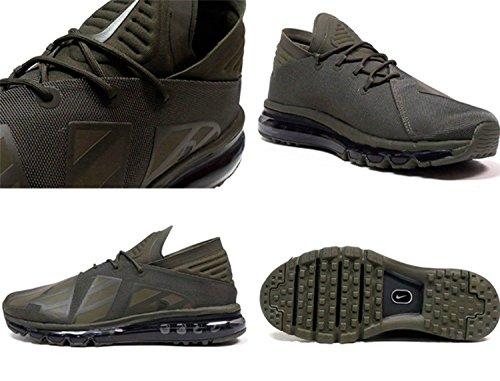 Nike Air Max Flair Se Loopschoenen Aa4084 300 Retail $ 170 Maat 9 Nieuw In Doos